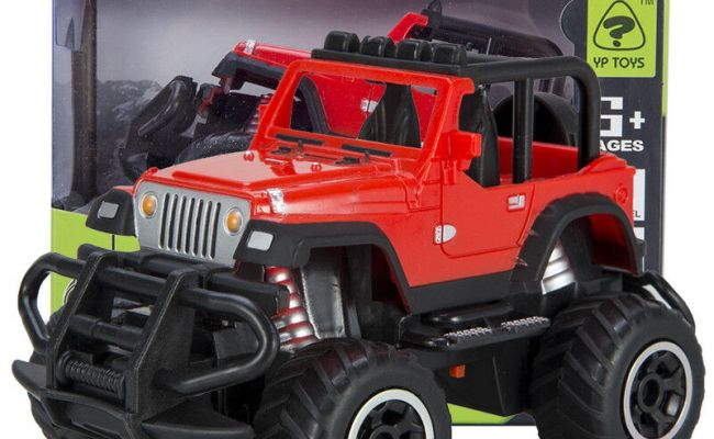 Toys For Kids Car Jeep Off Road Remote Control Rc Cool Car