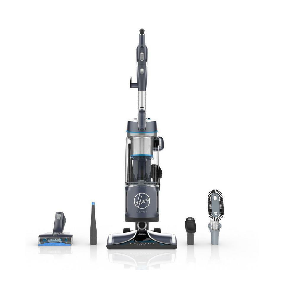 Garage Hoover Vacuum Hoover React Powered Reach Plus Bagless Upright Vacuum Cleaner Uh73510pc 696563909913 Ebay