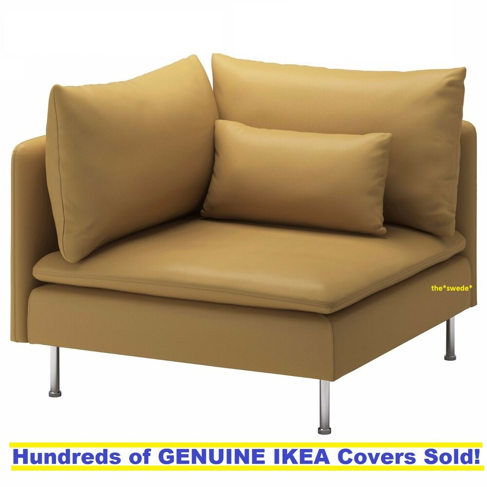 Sofa Soderhamn Ikea Ikea Soderhamn Corner Sofa Section Cover Slipcover Samsta Dark Yellow New Sealed Ebay