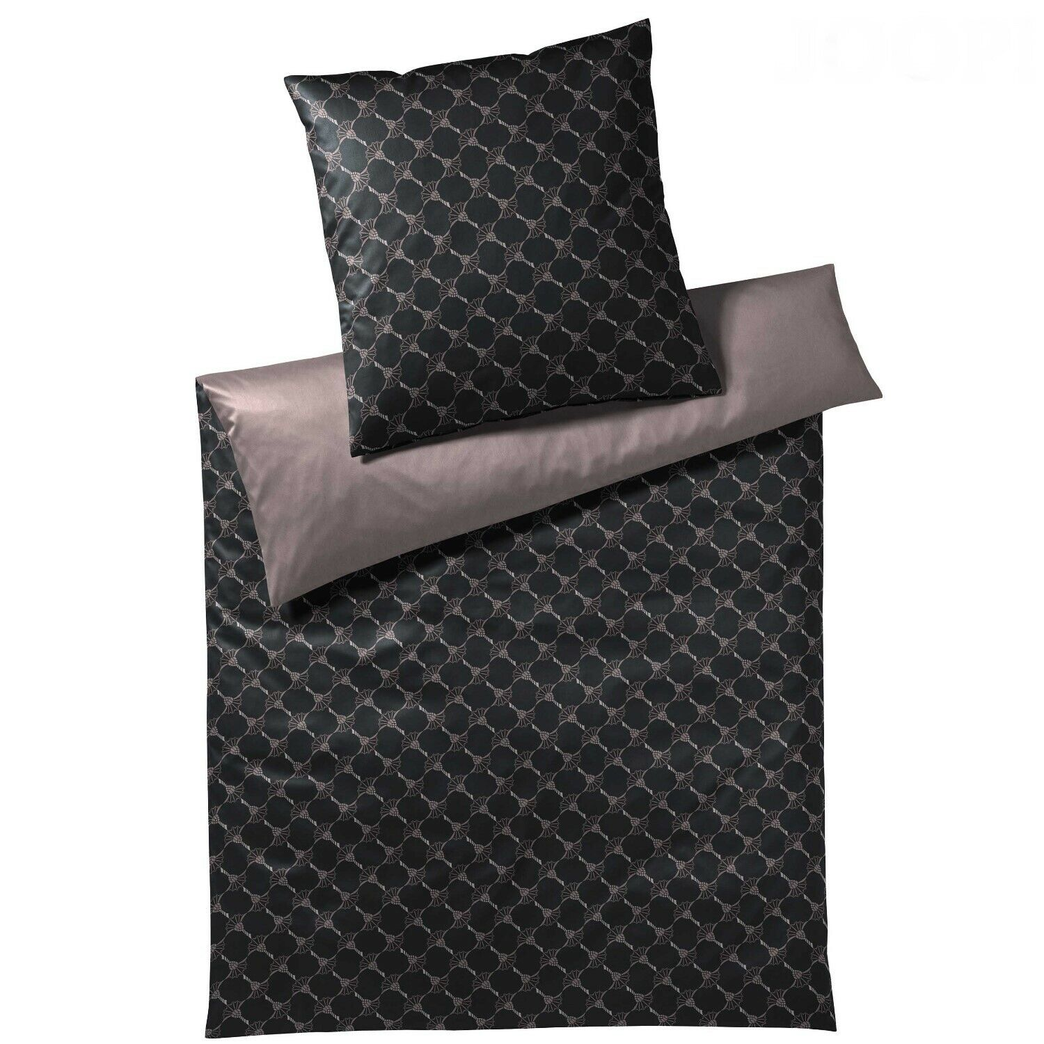 Bettwäsche Dog Side My Side Joop Bettwäsche 4050 Plaza Plain Honan Col.1 Cassis 135x200 %sale% Statt 139€