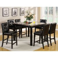 Atlas Faux Marble Top Counter Height Dining Table Set | eBay