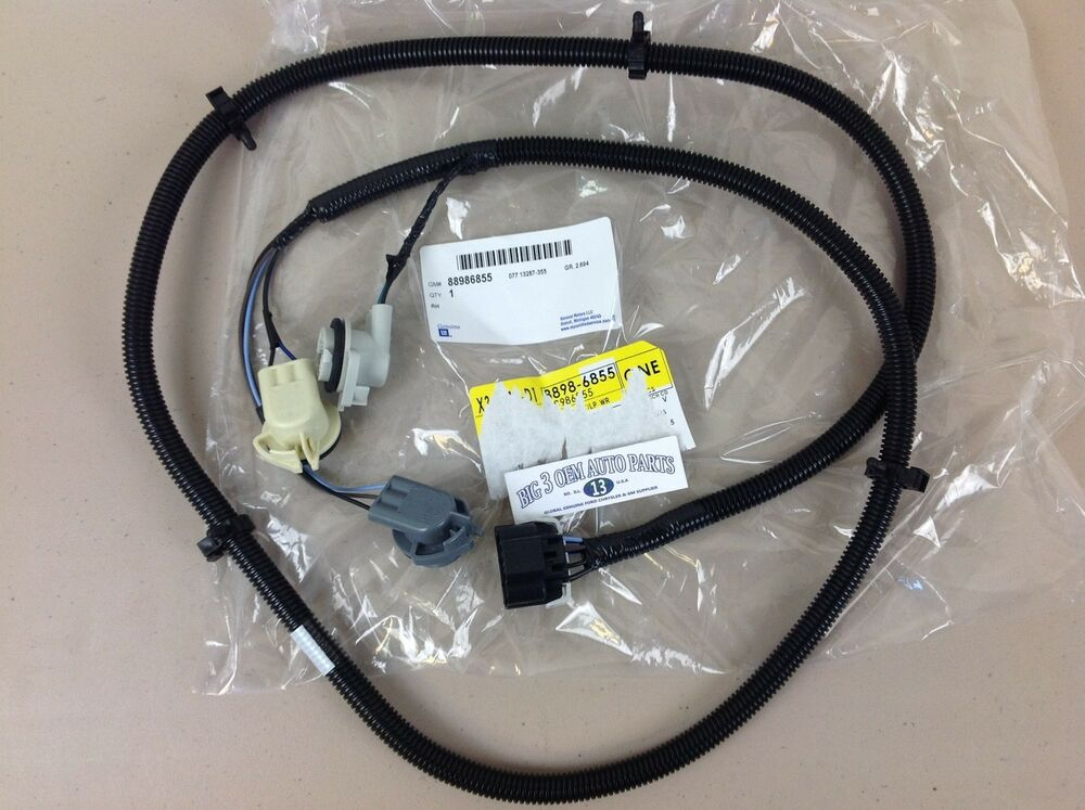 oem tail light wiring harness