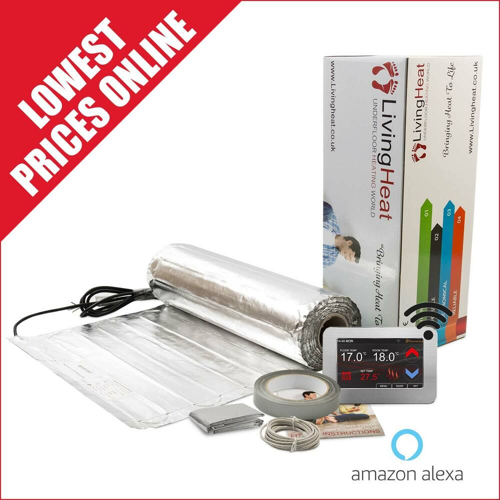 Suelo Radiante Con Madera Under Wood And Laminate Floor Heating Kit 150w M2 Underfloor Heating Foil Mat Ebay