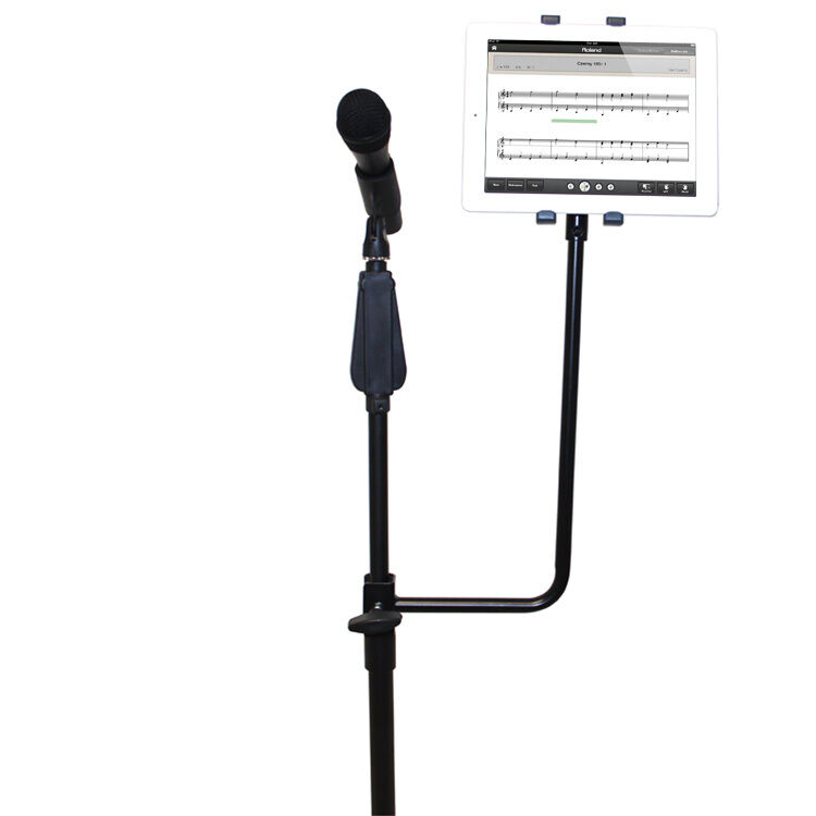 14 Inch High Tablet Microphone Stand Attachment Bracket Ebay