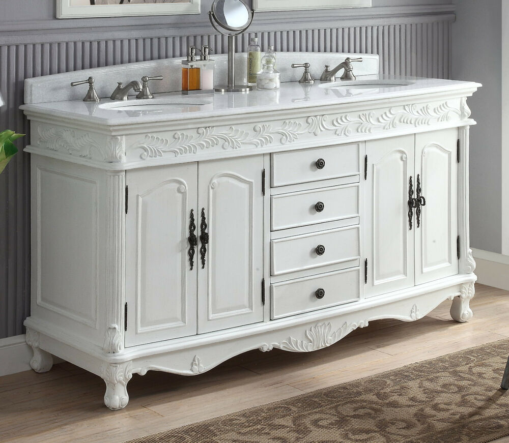 63 Decorative Double Sink Florence Bathroom Vanity Model
