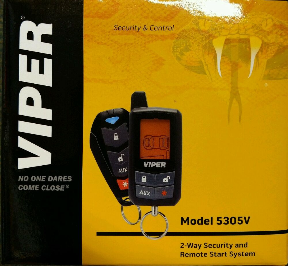 Viper 4204 Remote Start With Keyless Entry System Auto Electrical Brand New 5901 2 Way Lc3 Car Alarm 5305v 4