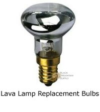 Lava Lamp Replacement Light Bulb, Reflector Type, R39 E17 ...
