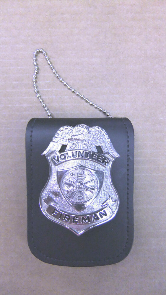 Badge Id Holder Private Investigator Badge Neck Chain Clip