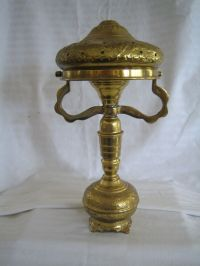 antique brass table lamp | eBay
