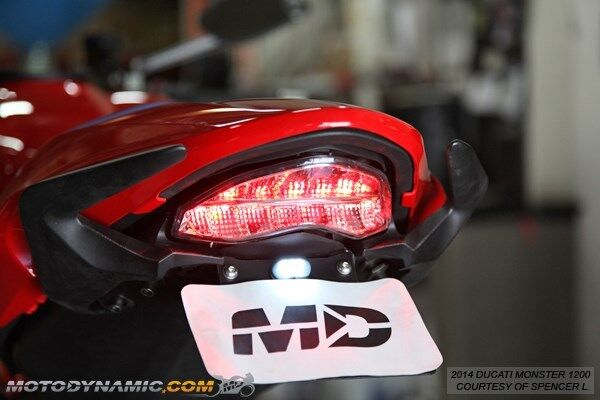 14-19 Monster 797 821 1200 SuperSport INTEGRATED Signal LED Tail