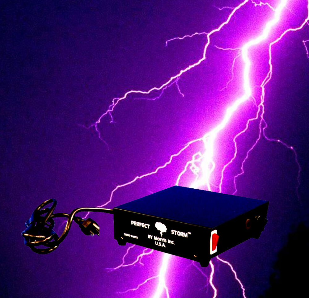 Lighting Effects Specialist Dj Special Effects Perfect Storm Thunder Sounds Lights