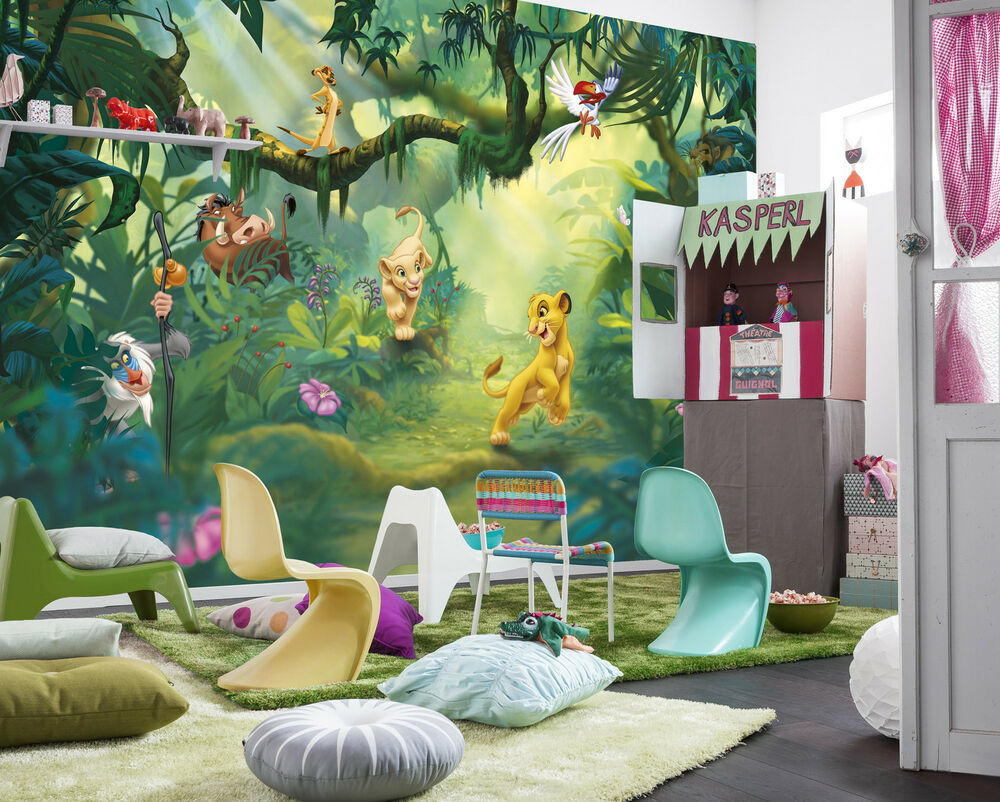 Wandtapete Kinderzimmer Lion King Wall Mural Photo Wallpaper For Kids & Baby Room