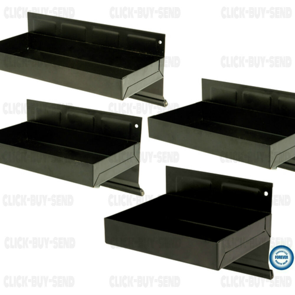 4 Magnetic Tool Trays Tray Holder Holders Storage Rack