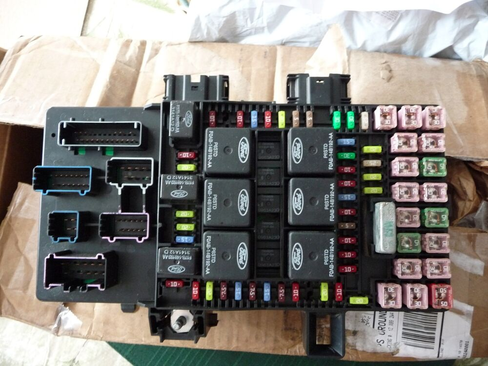 97 ford windstar fuse box