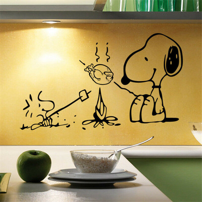 Wallpaper Motivational Quotes 42 New Snoopy Dog Kitchen Removable Wall Stickers Decals