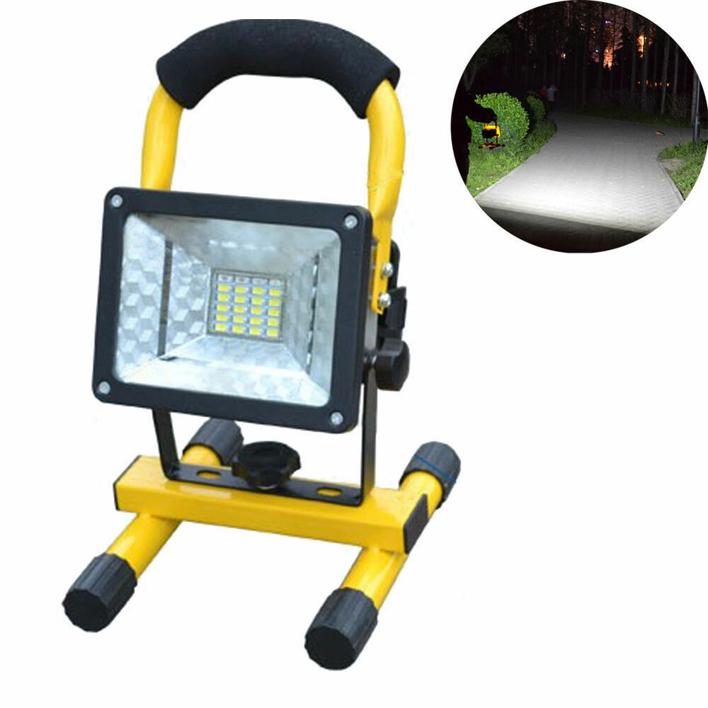Portable Waterproof 30w Ip65 3 Modes 24 Led Flood - Exterior Led Emergency Lighting