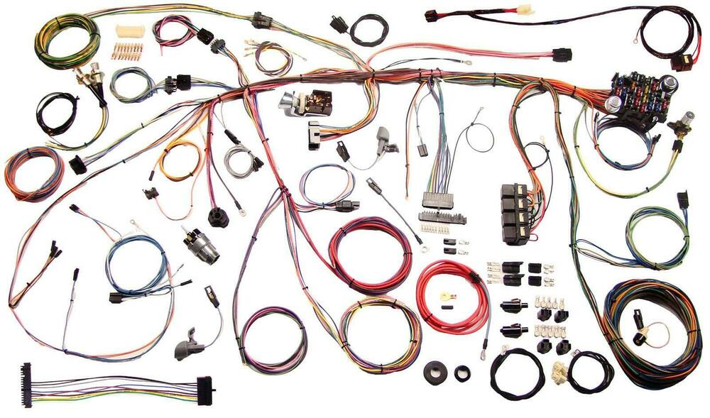 American Auto Wire 1970 Ford Mustang Wiring Harness Kit # 510243 eBay