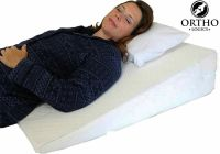 Orthologics LARGE Bed Wedge Raised Pillow Acid Reflux GERD ...