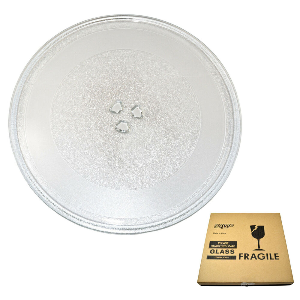Microwave Plate Hqrp 12 3 4 Inch Glass Turntable Tray For Kenmore 507049 2263672 Microwave Plate 884667830893 Ebay