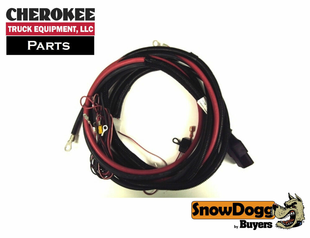 SnowDogg/Buyers Products 16160300, Truck side Control Harness eBay
