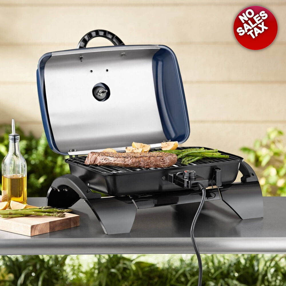Electric Grill Portable Outdoor Tabletop Grills Bbq - Grill Outdoor