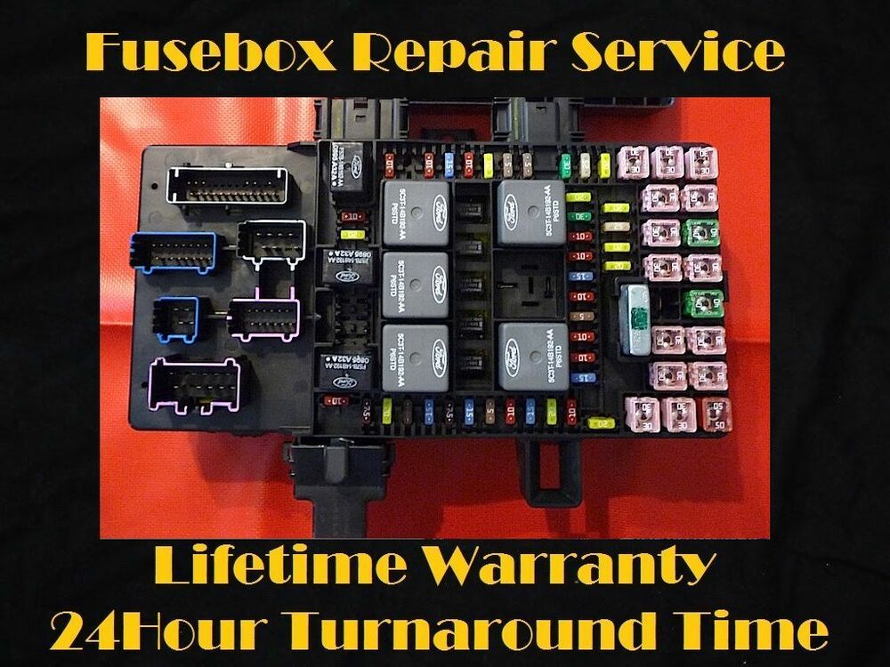2003-2006 Lincoln NAVIGATOR Fuse Box Repair Service (Fuel Pump Relay