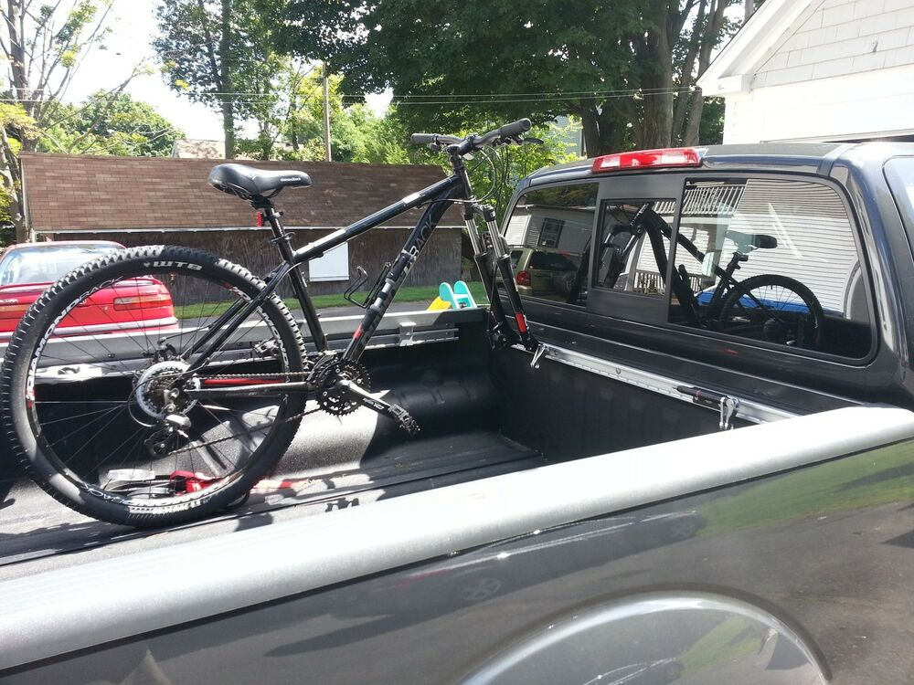 Bike Mount Toyota Tacoma Tundra Bed Rail Bicycle Rack Ebay