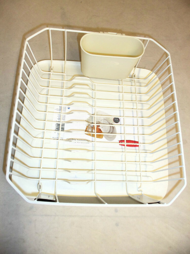 Rubbermaid Small Sink 6008 1180 Dish Drainer And Tray