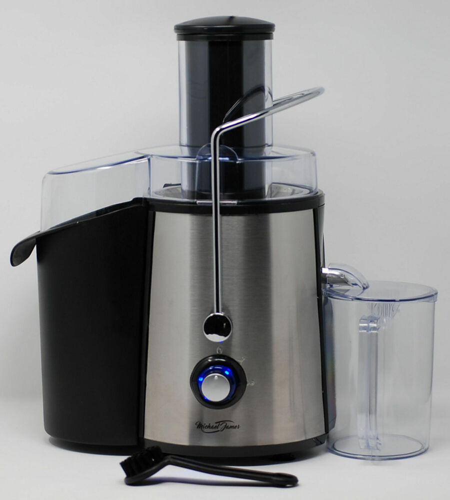 Extracteur Jus Michael James Juicer Centrifugeuse Centrifugeuse Fruits Légumes Jus Extracteur 1000 W Ebay