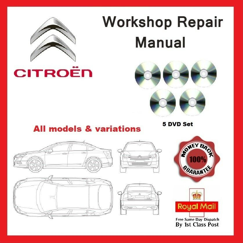 Citroen Workshop Service and Repair Manual All models and engine