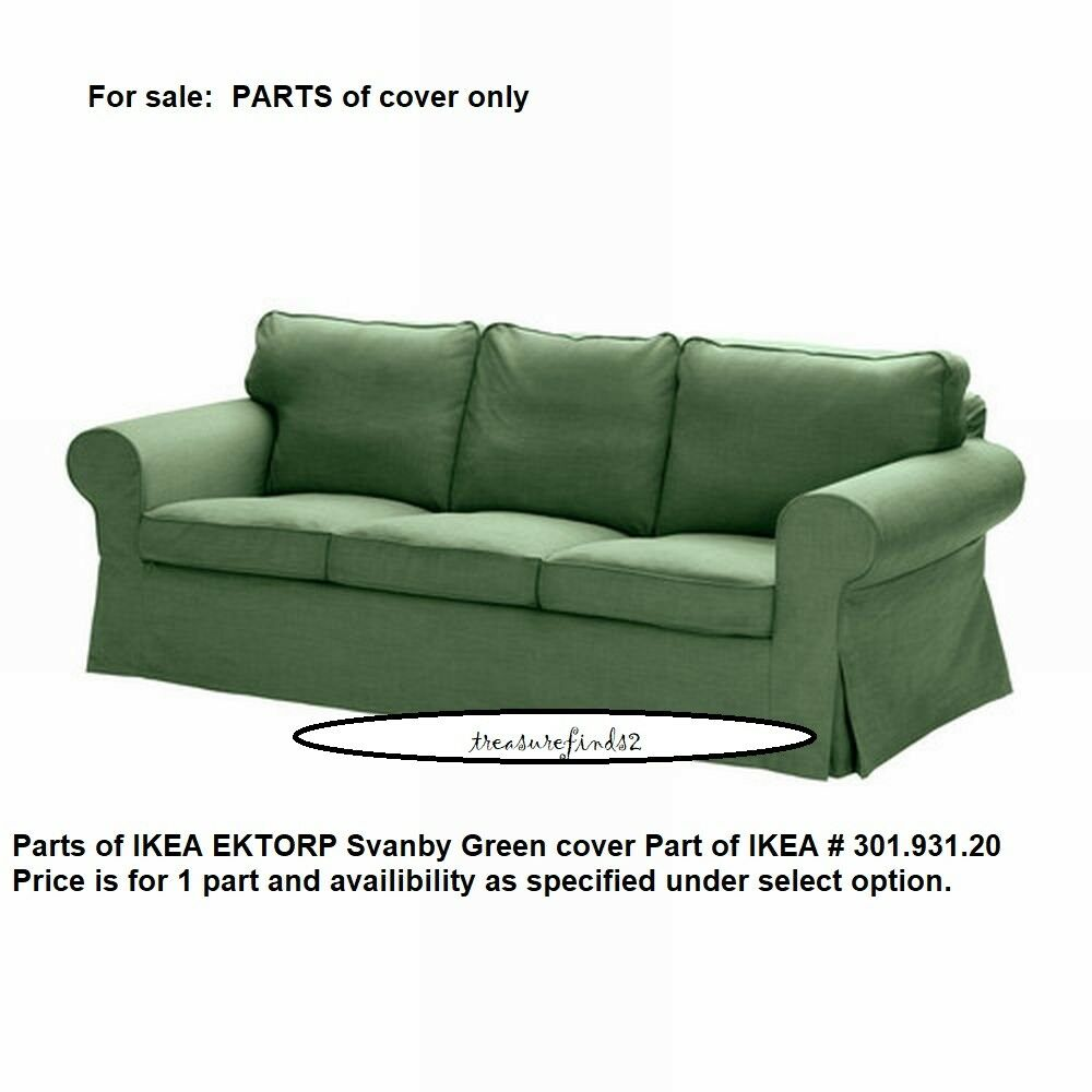 Ektorp Sofa From Ikea New Part Of Ikea Ektorp Sofa Cover Svanby Green Slipcover Part Of 301 931 20 Ebay