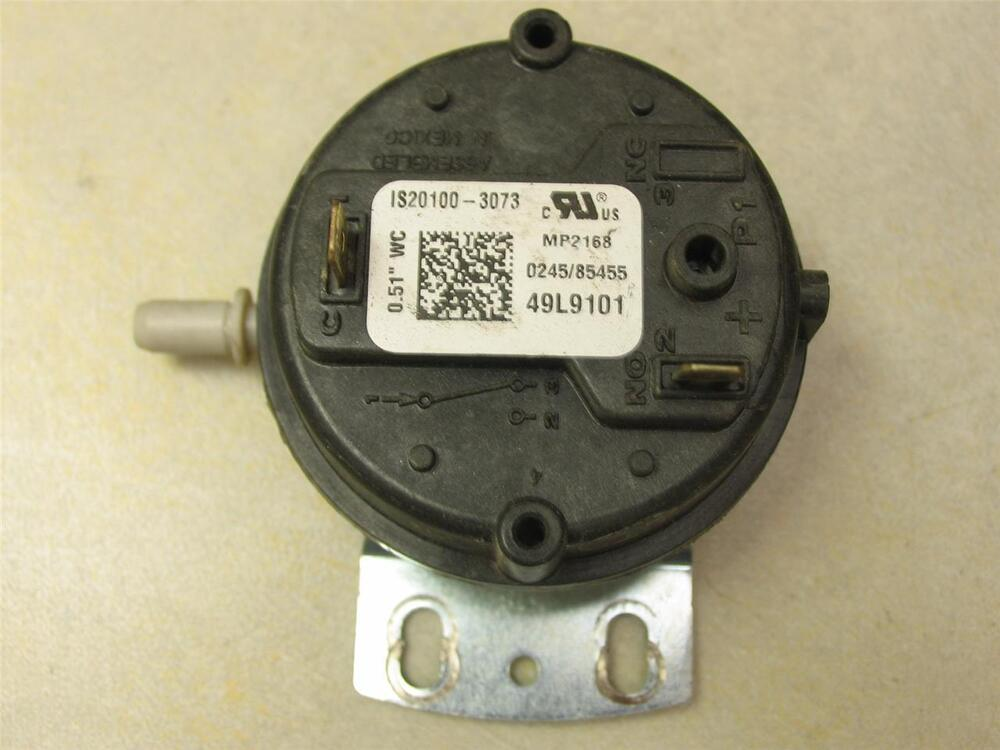 Honeywell 49l9101 Furnace Air Pressure Switch Is20100 3073
