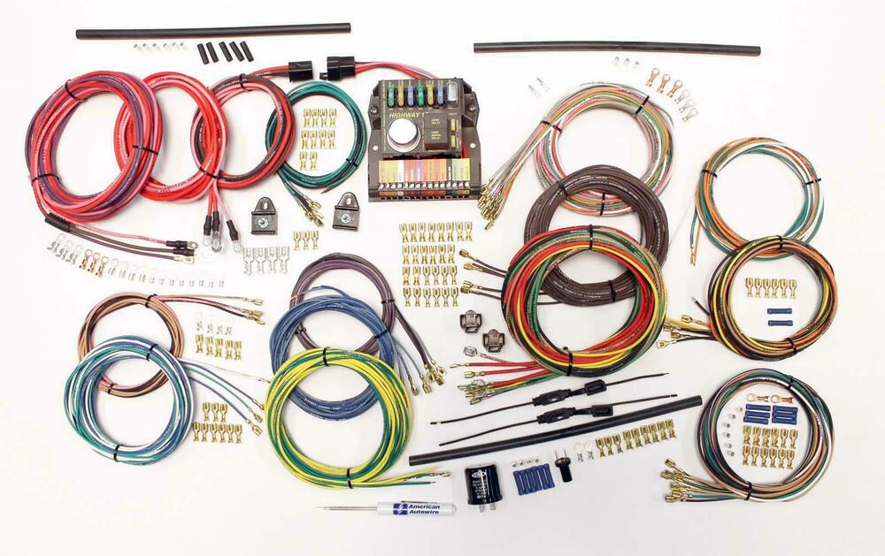 American Auto Wire 62-74 Volkswagon Beetle Wiring Harness Kit