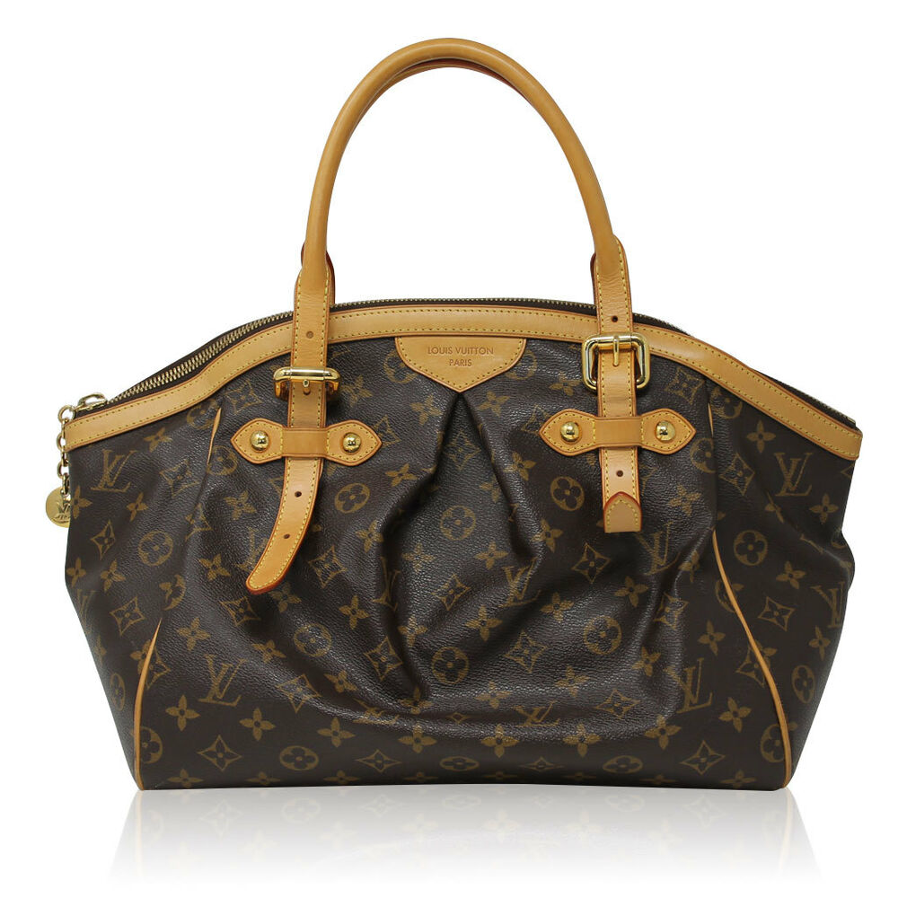 Tivoli Gm Louis Vuitton Tivoli Gm Monogram Handbag Purse Ebay
