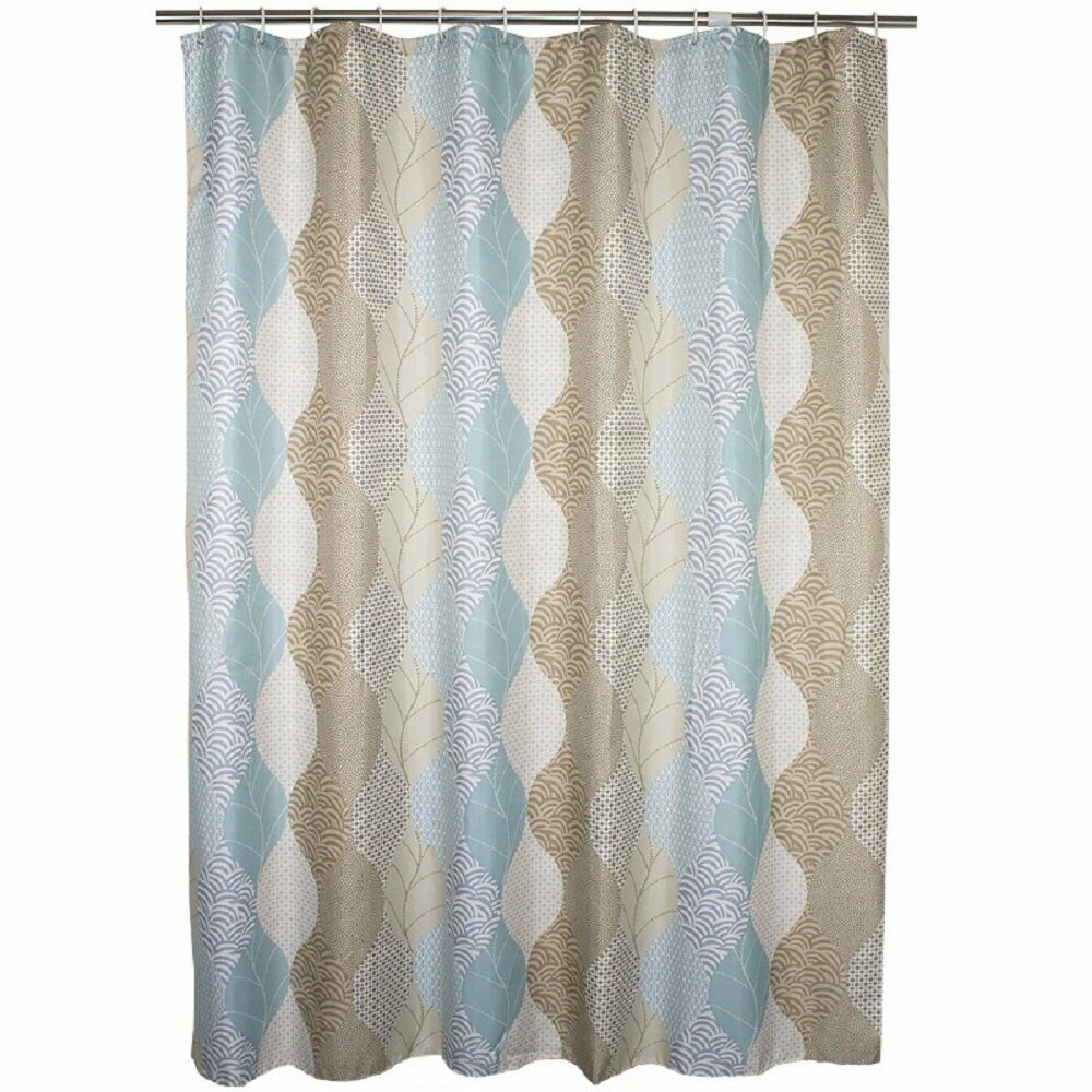 108 Inch Wide Shower Curtain Ufaitheart Fabric Extra Wide Shower Curtain 108 X 72 Inch Abstract Leaves 769700900729 Ebay