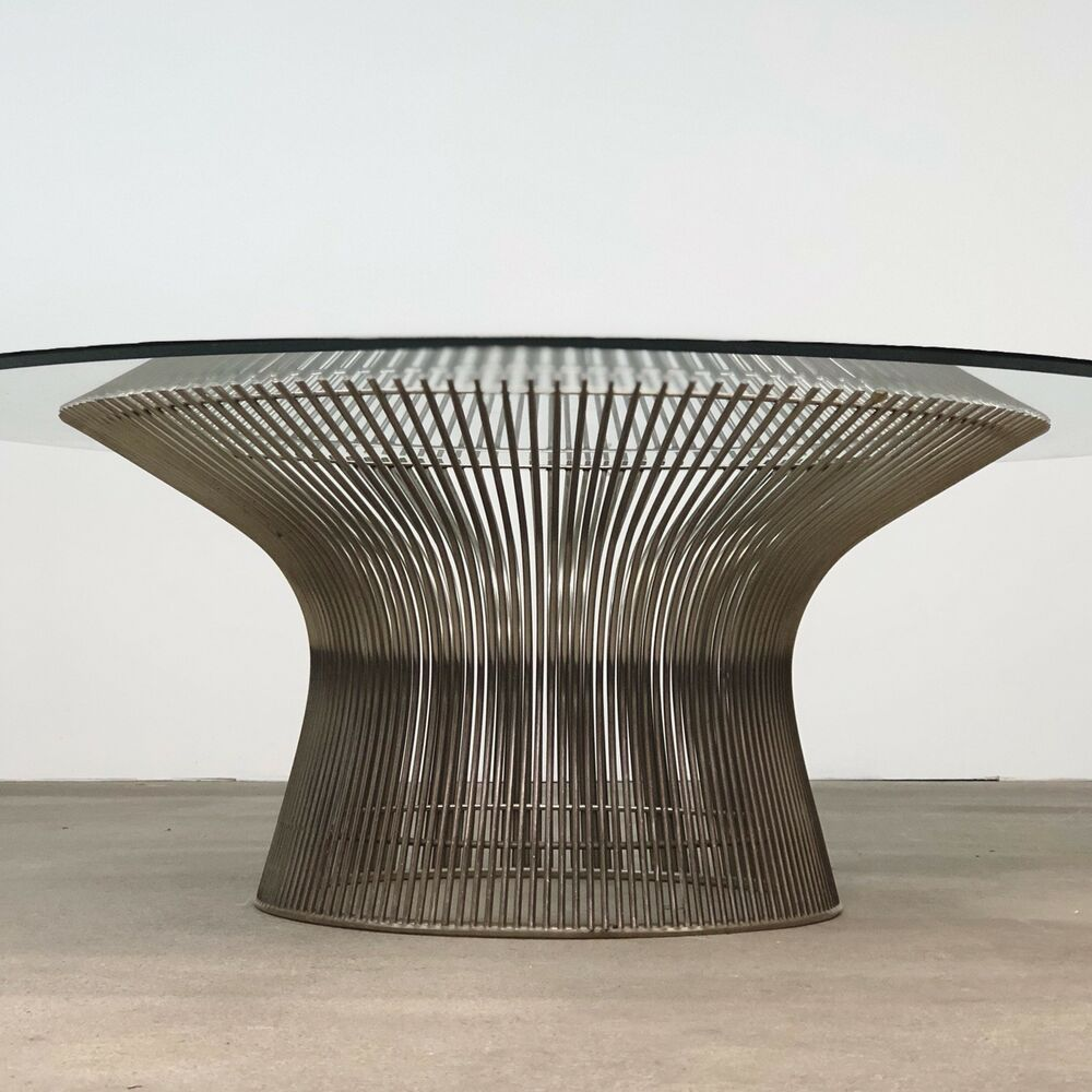 Knoll Table Warren Platner Vintage Knoll Coffee Table Mid Century Ebay