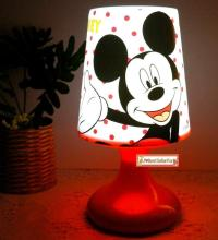 2 Functions Mickey Minnie Mouse Twilight Night Light Kids ...