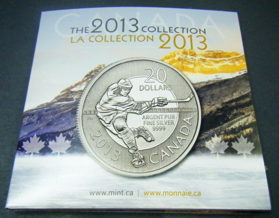 2013 Canada 20 For 20 Collectors Card Coin Holder Folder