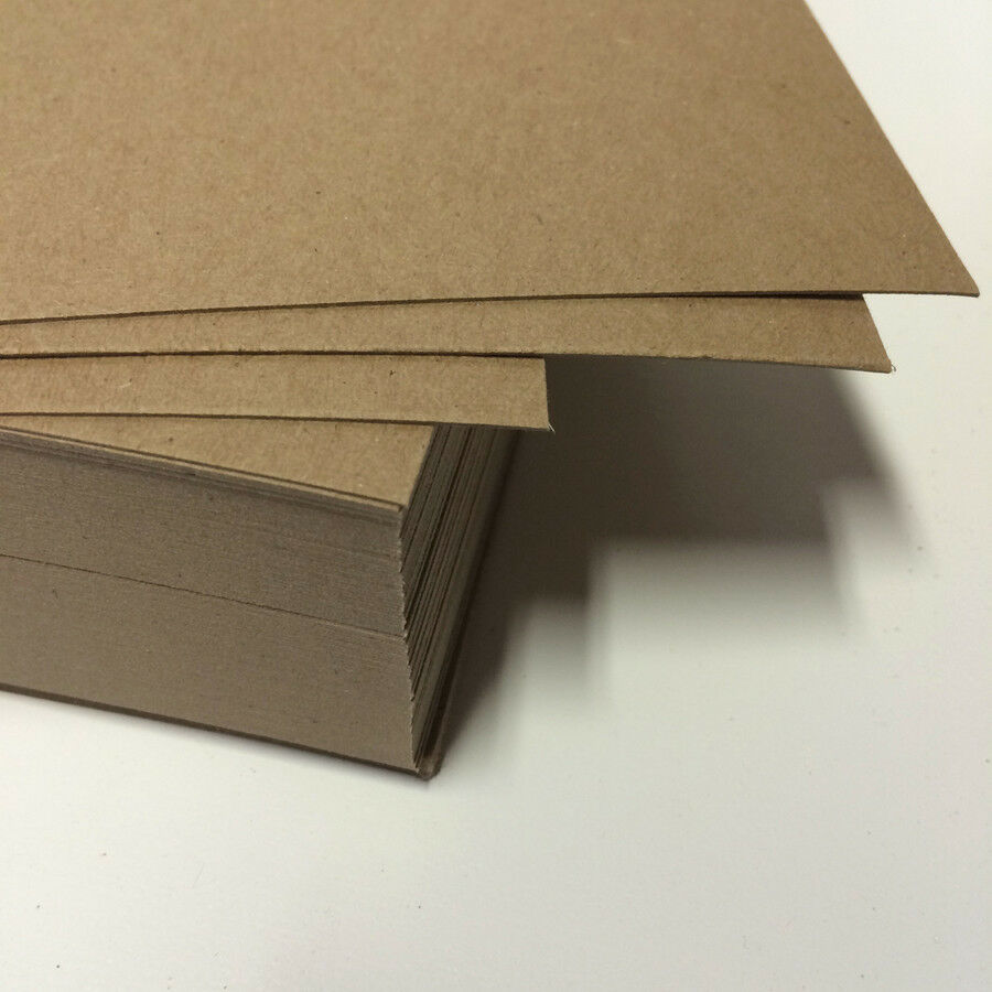 "Spanplatte Gewicht Chipboard 22 Pt - 8.5x11"" Full Sheets 0.022 Lightweight 25"