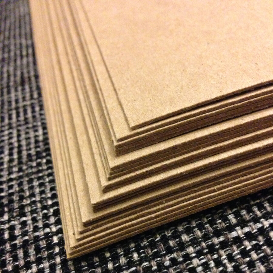 Spanplatte Gewicht 0.030 Chipboard 8.5x11 - 20 Sheets Medium Weight For