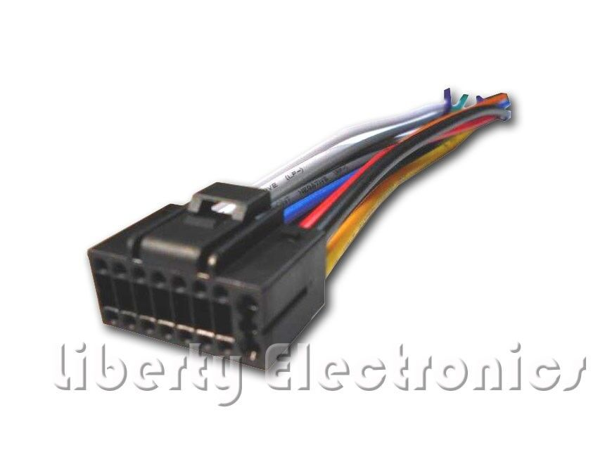 New 16 Pin AUTO STEREO WIRE HARNESS PLUG for JVC KD-R330 / KD-R338