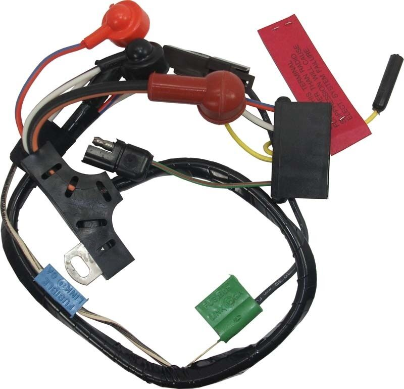 73 Mustang Alternator Wiring Harness w/o Gauges for 42-61 Amp