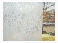 Privacy Contact Paper Lace Window Film Self Adhesive Clear ...