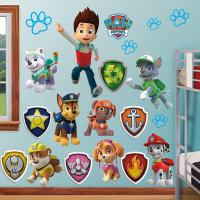 Huge Paw Patrol Wall Stickers Kids Decor Removable Decal ...
