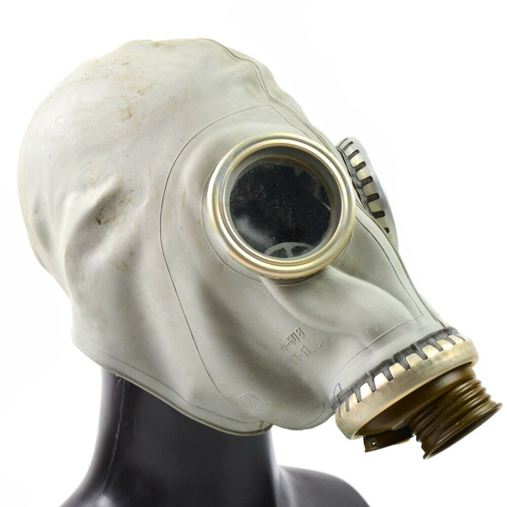 Respiratory Mask Soviet Russian Ussr Gas Mask Face Respiratory Protection Cosplay Costume Medium Ebay