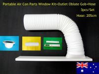 Portable air conditioner Part Outlet oblate gob+Window Kit ...