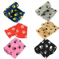 Lots Paw Print Soft Handcrafted Warm Pet Puppy Dog Cat ...