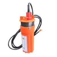 DC 24V Deep Solar Submersible Well Water Pump, Solar