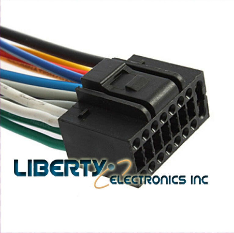NEW WIRE HARNESS for KENWOOD EXCELON KDC-X494 eBay