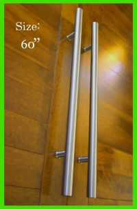 Door Pull Handle Front Entry Modern Stainless Steel ...
